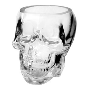 Small Tiki Skull Glass 11oz / 330ml