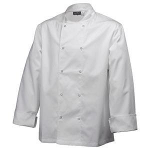 Basic Stud Jacket Long Sleeve White XXL