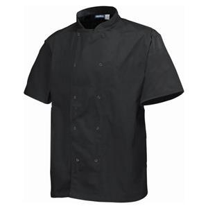 Basic Stud Jacket Short Sleeve Black XL