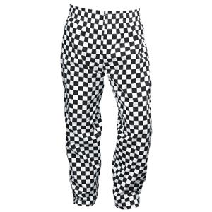 Large Check Black & White Baggies XXL Size
