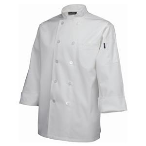 Standard Jacket Long Sleeve White XXL Size