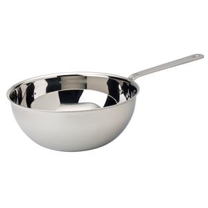 Stainless Steel Wok 5.5inch / 14.25cm