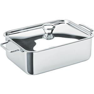 Stainless Steel Rectangular Roasting Dish 6x 4.5inch / 15 x 11cm