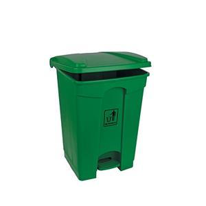 Polypropylene pedal Bin Green 45ltr