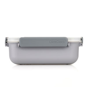 ClickClack Daily Food Storage Container Grey 1.3ltr