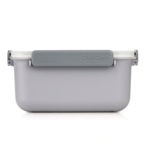 ClickClack Daily Food Storage Container Grey 1.9ltr