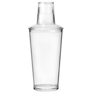Elite Premium Polycarbonate Cocktail Shaker