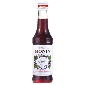 Monin Blackcurrant Syrup 25cl