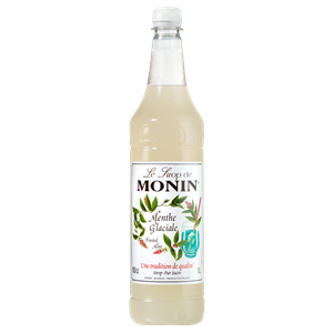 Monin Frosted Mint Syrup 1ltr