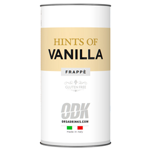 ODK Hints of Vanilla Frappe Powder