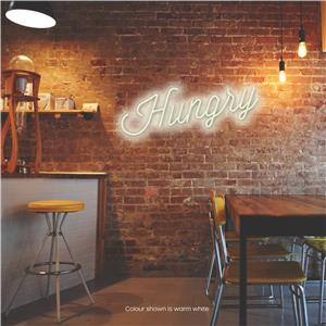 Hungry LED Neon Sign Warm White
