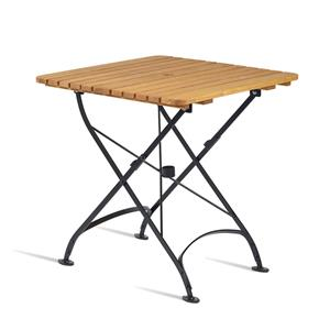 Arch Square Folding Table Oak