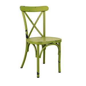 Café Side Chair Green