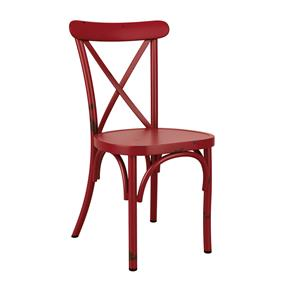 Café Side Chair Red