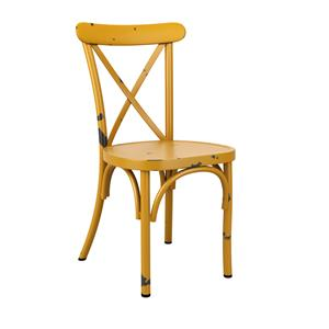 Café Side Chair Yellow
