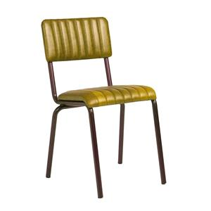 Core Side Chair Ribbed Lascari Vintage Gold