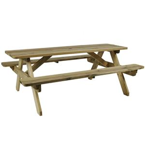 Hereford Picnic Table 6 Seater