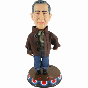 George W. Bush Talking Figurine
