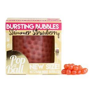 Shimmer Strawberry Mini Bursting Bubbles