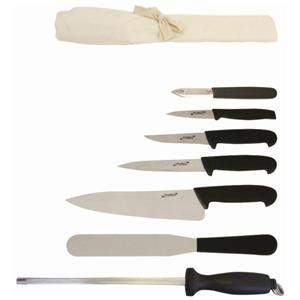 Genware 7 Piece Knife Set with Wallet