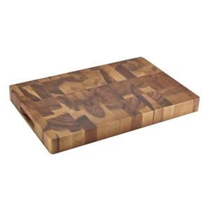Acacia Wood End Grain Chopping Board 18 x 12inch