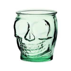 Glass Skull Jar 16oz / 470ml