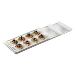 Genware Fine China Narrow Rectangular Serving Platter 33 x 17cm