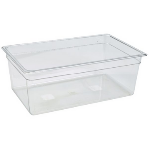 1/1 Polycarbonate GN Pan 200mm Clear