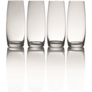 Mikasa Julie Stemless Flute Glasses 9oz / 266ml