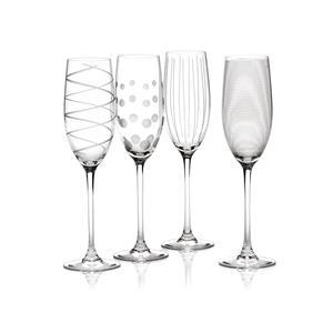 Mikasa Cheers Flute Glasses 8.8oz / 250ml