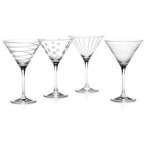 Mikasa Cheers Martini Glasses 9.8oz / 290ml