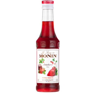 Monin Strawberry Syrup 25cl