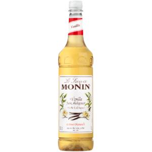 Monin Vanilla Syrup 1ltr