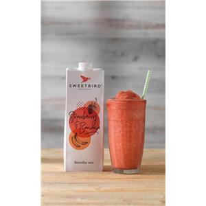 Sweetbird Strawberry & Banana Smoothie Mix 1ltr