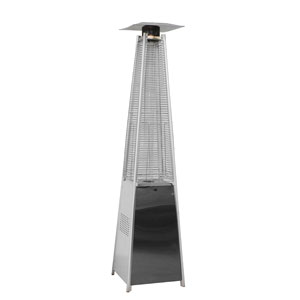 Outdoor Patio Pyramid Heater Stainless Steel