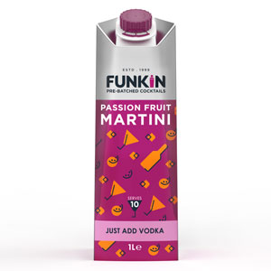 Funkin Passionfruit Martini Cocktail Mixer 1ltr