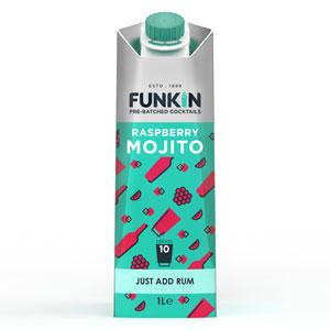 Funkin Raspberry Mojito Cocktail Mixer 1ltr