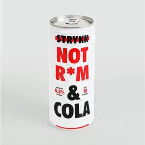 Strykk Not R*M & Cola Can 500ml