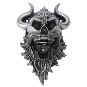 Viking Skull Wall Mounted Bottle Opener