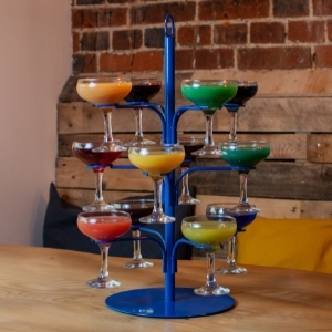 Cocktail Tree Blue