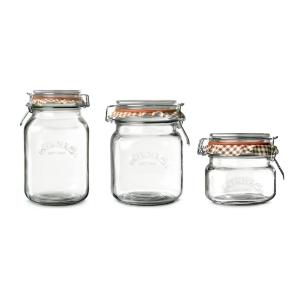 Kilner Square Jars Set