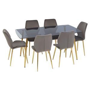 Wimslow Grey Rectangular Dining Set