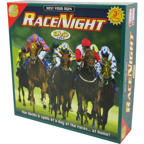 Race Night Horse Racing Dvd Game 3rd Edition Drinkstuff
