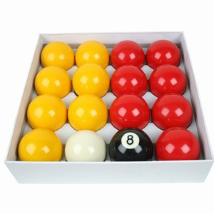 Standard Set Of Pool Balls