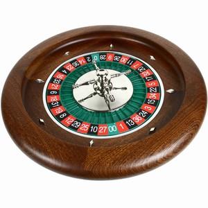 Mahogany Roulette Wheel