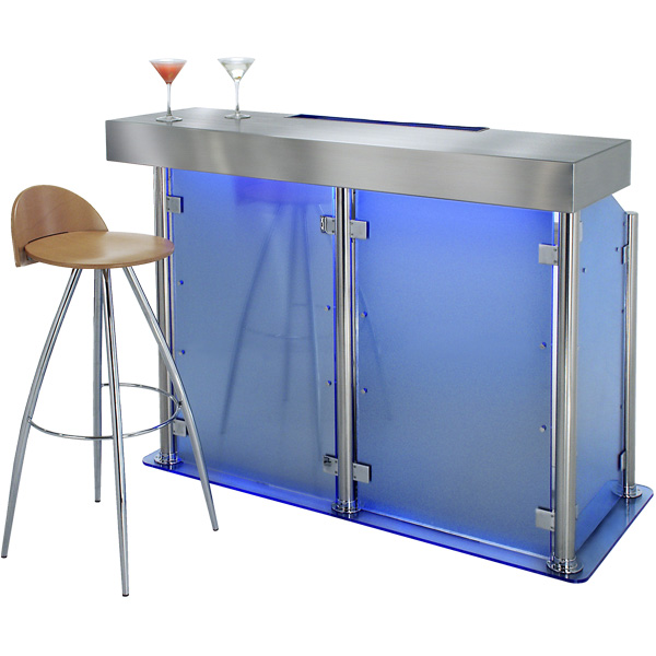 Home Bars For The Casual Drinkers: Contemporary Home Bars Bar Furniture