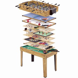 34 in 1 Multiplay Games Table
