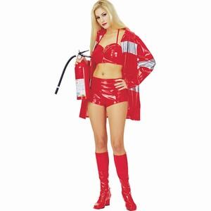 Red Hot Vinyl Vixen Fire Woman