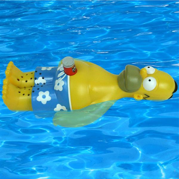Homer Simpson Floating Bath Radio Drinkstuff