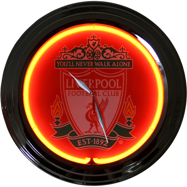 Liverpool Neon Clock Drinkstuff